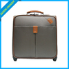 Good price 16 inch leather plane luggage
