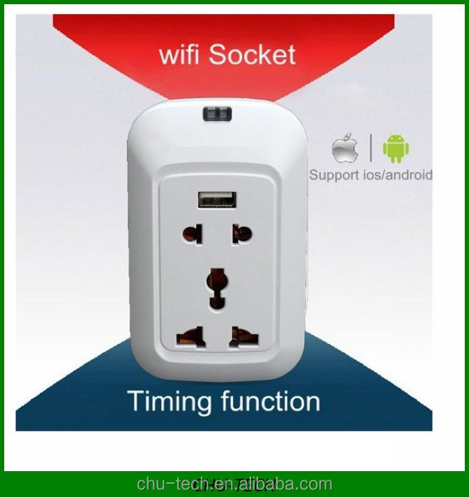 WiFi Enabled Electric Switch And Socket,Electric Smart Wifi Plug Power Socket