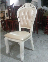 Folding Cheap Carved Solid Wood Dinning Chair (HG001)