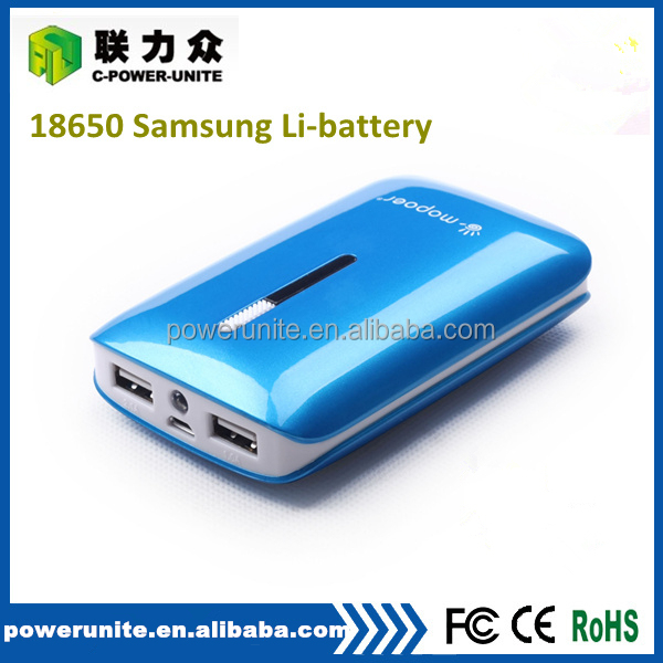 2a output portable power bank 7800mah mobile charger for smart phone!