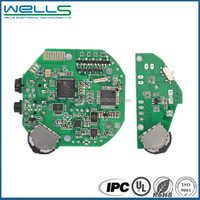 automotive 2 layers printed circuit boards , PCB design with 94v0