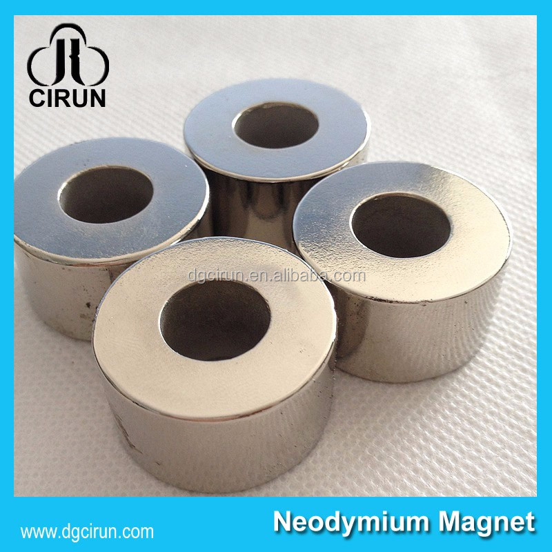 N52 N42 super strong custom ndfeb rare earth permanent calendar neodymium flywheel magnet