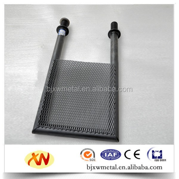 mixed metal oxide titanium anode used mesh for chlor alkali plant