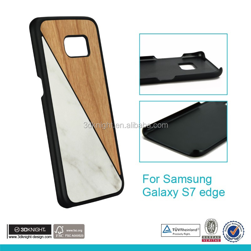 2016 hot sale for Samsung Galaxy S7 wood cases for Samsung Galaxy S7 case wooden wholesale cell phone accessories