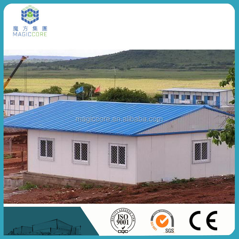 High quality prefab temporary houses/warehouse/storage room