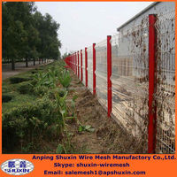 Low Price And High Quality Wire Mesh Fence For Boundary Wall