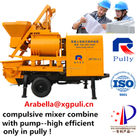 new product concrete mixer pump