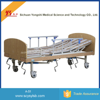 Wholesale Cheap Manual Folding Medical patient Bed for Home care