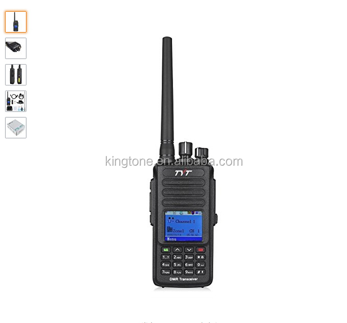 TYT MD-390 DMR Digital Radio Waterproof Dustproof IP67 Walkie Talkie Transceiver UHF 400-480MHz Two-Way Radio