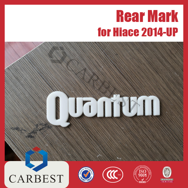 High Quality rear mark for Toyota Hiace 2014 Quantum