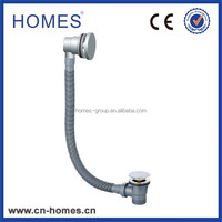 Home Available close and open overflow Toe Touch pop up drain stopper