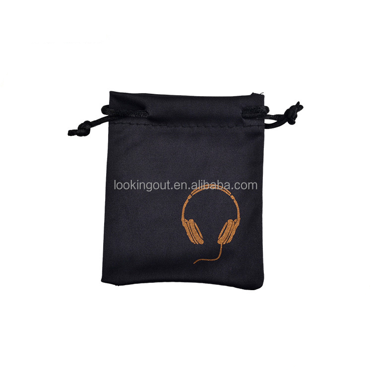 promotional custom make earphone pouch bag