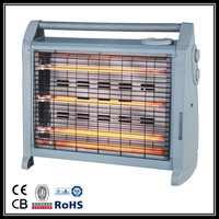 hot sales with CE GS ROHS CB SASOcertificate Quartz heater infrared heater 1500W QH08 with turbo and humidifier