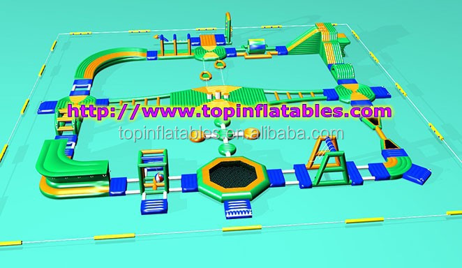 2017 new design inflatable water park for sale,inflatables water game