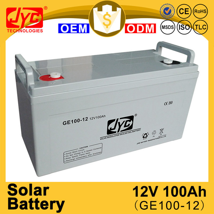 Twenty - first Century continual hot sale 12v 100ah solar power storage battery
