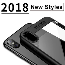 Ultra thin high clear hard pc matte tpu case for apple iphone x shock proof phone case cover