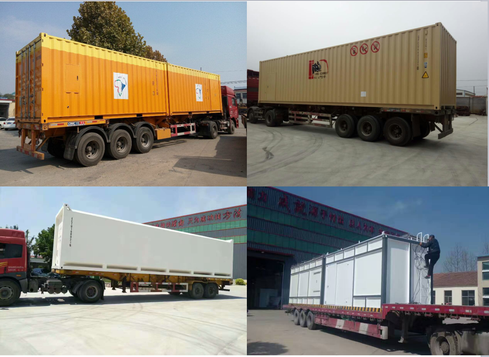 export to Africa filling diesel container type mobile petrol station