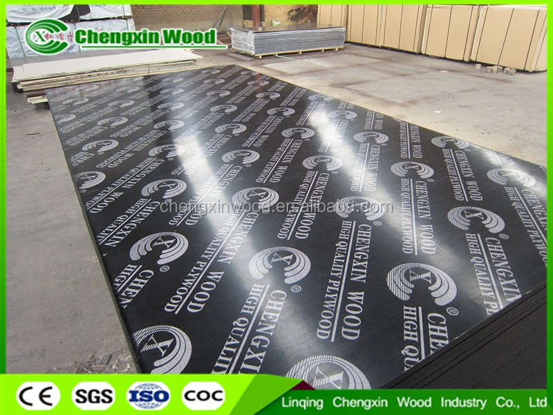 610*2500*9-21mm film faced plywood manufactures plywood from cheng xin wood with best price