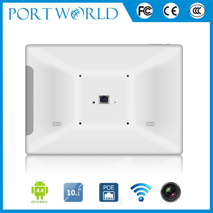 10.1 inch android tablet POE tablet white with android 5.1 OS