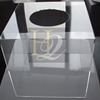Plastic Acrylic Material Charity Donation Box