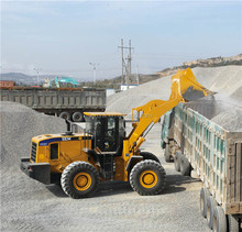 Chinese famous SEM669C 6Ton used construction wheel loader