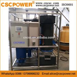CSCPOWER competitive large crystal china factory ice tube making machine with edible cylinder ice