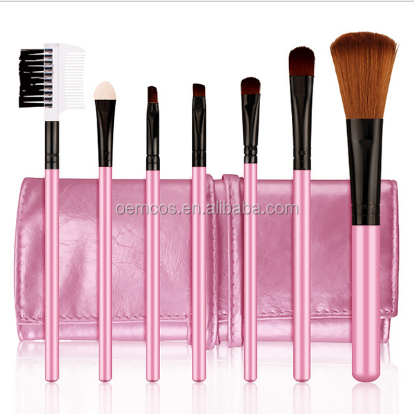 Hot sale make up tools,7pcs make up brush set for bb cream