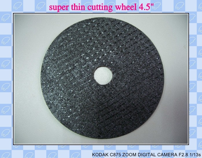 4.5inch Resin bonded Abrasive Steel And Metal Cutting wheel/Disc