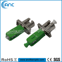LC SC fiber optic adaptor for testing and medical devices