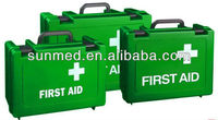 High Quality Colourful empty plastic first aid box