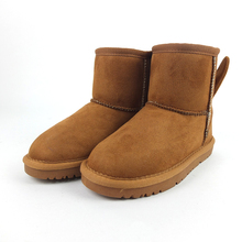 New fashion winter warm custom kids boots shoes