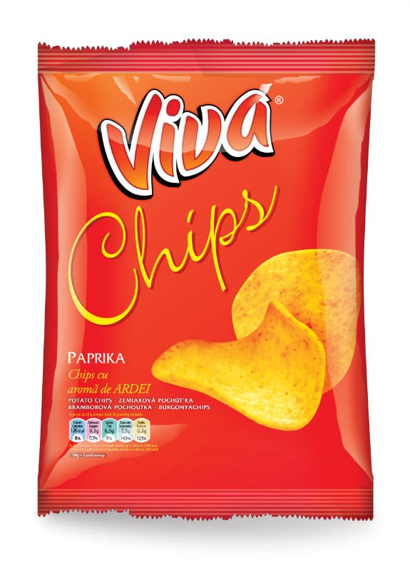 Viva Chips With Different Flavors