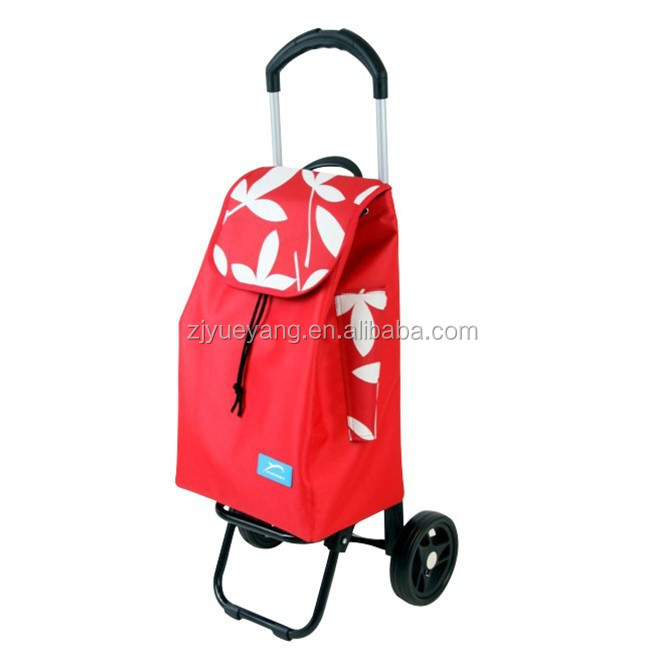 YY-37X07 Adjustable food trolley go cart goods trolley kitchen cart