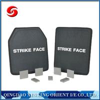 Level NIJ IV stop bullet 7.62mm aluminum PE ceramic single bulletproof plate