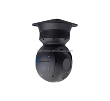 1km airplane UAV mounted electro optical pod thermal imaging camera