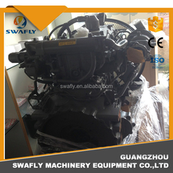 Diesel ISUZU 4HK1 Complete Engine Assy 4HK1 Engine For Excavator