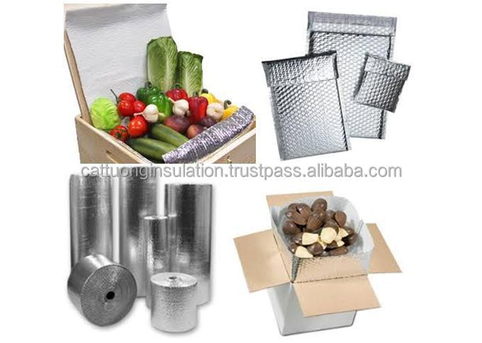 thermal reflective aluminum bubble air wrap