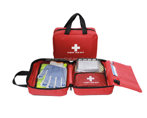 01044c4d39cd B08 Portable Home Travel Sports First Aid kit Bag   urgent supplies of  medicine and rescue