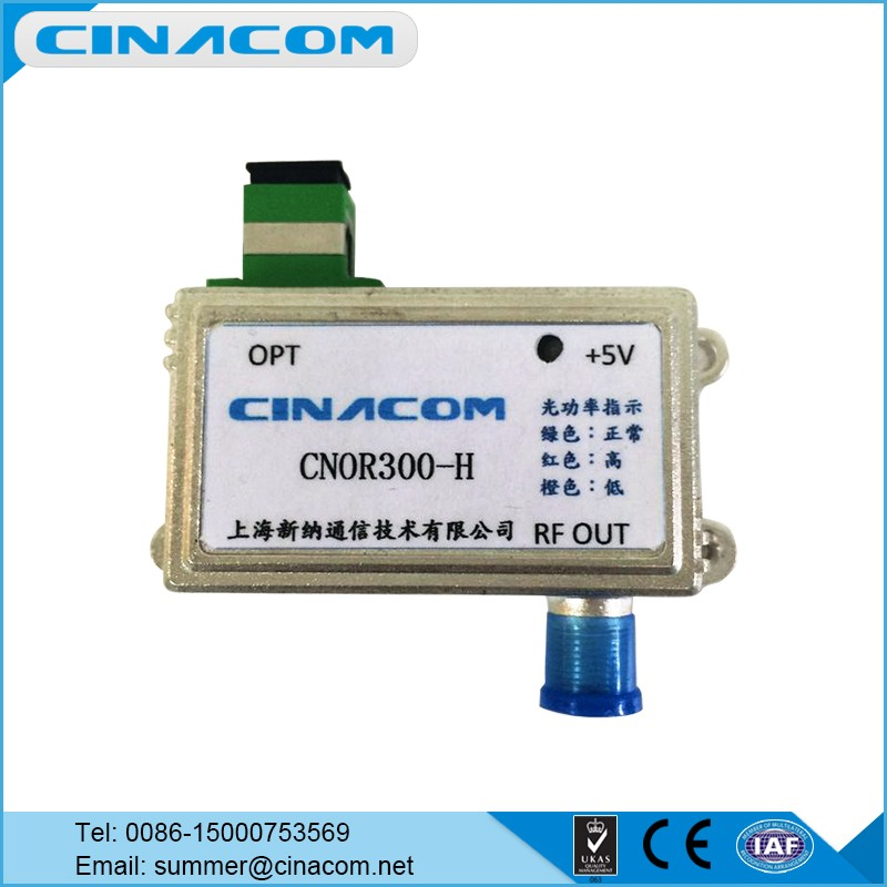 FTTH Ultra Mini Fiber Optic Node Receiver for CATV