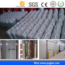 Low price two component strong adhesive glue heat transfer glue for pu cold storage room panel