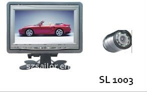 "2CH input road 7""TFT LCD car monitor with night vision camera"