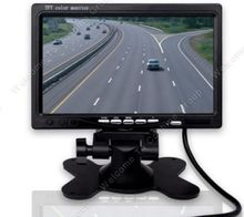 "HD 800*480P 7"" TFT LCD Monitor 2CH Video Input For Car Reverse Rear View Parking"