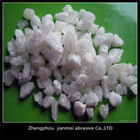 White Fused Aluminum grains F100 for blasting material
