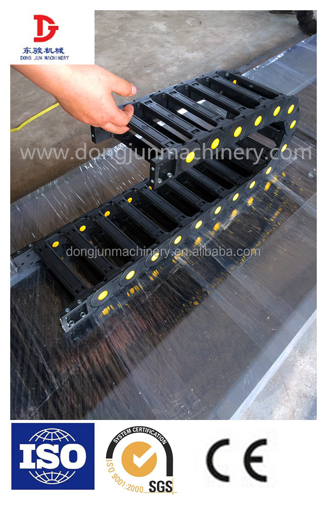 Dongjunjx TLJ series high speed anti-noise plastic chain cover