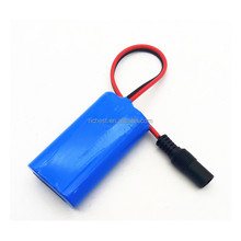 icr18650 lithium ion 2s1p 7.4v 1000mah 1500mah 2000mah 2200mah 2600mah li ion battery pack for christmas led light outdoor