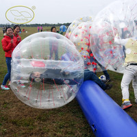 2015 Fwulong TPU PVC Bubble Football For Adult