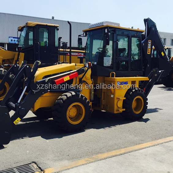 XCMG XT864 8 Ton backhoe loader