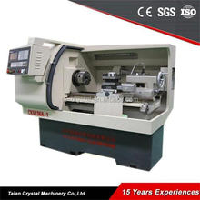 High Efficiency Educational CNC Lathe Price with Siemens 808D CK6136A-1