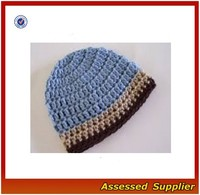 XJ0860/ Handmade cute crochet hat pattern/ chunky crochet hat for baby