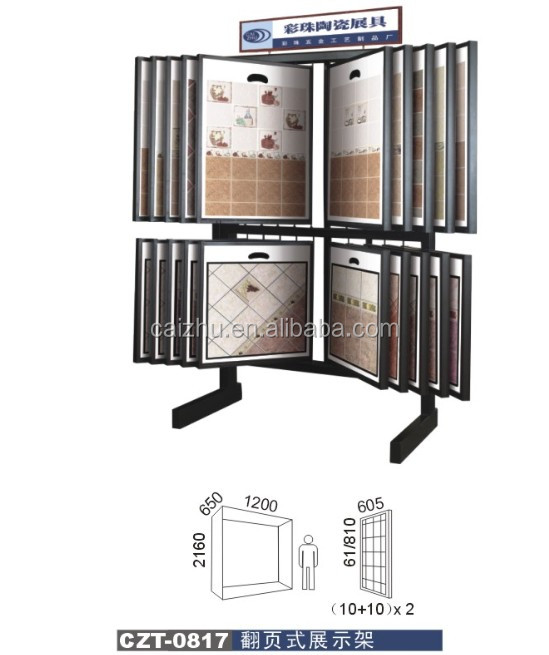 Ceramic Floor Storage Tile Display Holder Racks